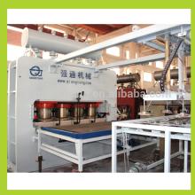 Fabricação de painéis de móveis / laminação de melamina em mdf / mdf-laminating-machine