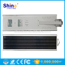 Fábrica de atacado 40W solares de luz de rua bateria de lítio de backup