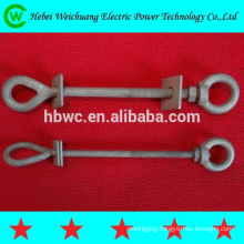 Machine bolt / oval eyebolt / eye bolt forged made in China