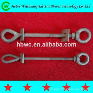 Machine bolt / oval eyebolt / eye bolt forged made in China