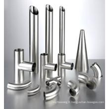 Raccords sanitaires SUS304/316 Tube en acier inoxydable