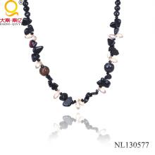 2014 Achat Perle Halskette auf alibaba Web Site