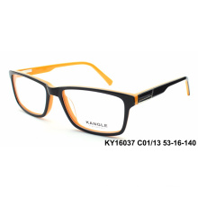 Low Moq high - Acetate acetate black optical frame