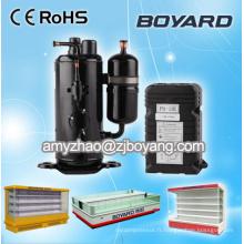 Pièces de réfrigérateur compresseur hermétique boyard r404a pour balayer l'évaporateur congélateur