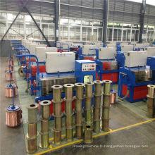 24DT (0.08-0.25) machine de tréfilage de cuivre fin avec ennealing