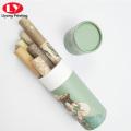 Round make-up brush/lip gloss/pen packaging box
