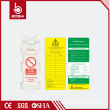 International Scaffold Tag BD-P35 Round hook with multi-function for Increasing Security with CE ROHS