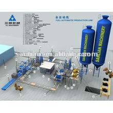 Fabricantes de máquinas de bloco de concreto quente para venda no Brasil