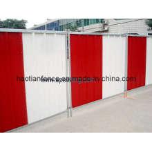 Steel Hoarding Panels