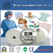 SMS Nonwoven Fabric Disposable Hospital Products Medical Mask and Medical Sheet