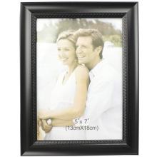 Black Cheap Plastic Photo Frame In 13x18cm