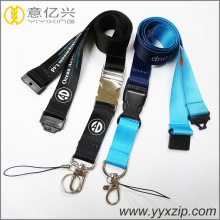 Designed silkscreen print sublimation custom Lanyards