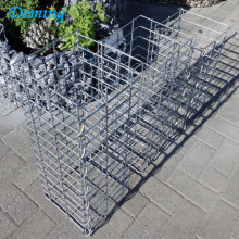 2 .1 .1m 240g Zinc Coated Hot - Dipped Galvanized Welded Gabion Box