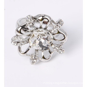 Flower Shape Fashion Jewelry Ring Factory Wholesale Direct Price