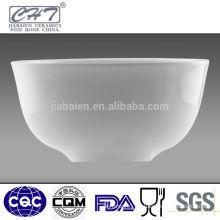 Elegant fine bone china salad ceramic soup bowl
