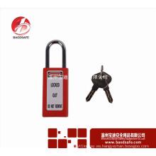 Wenzhou BAODI largo acero Shackle Xenoy bloqueo de seguridad candado BDS-S8661