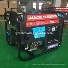 Power Value Nuevo generador de control remoto 2500w con gasolina para la venta