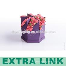 Fabrik benutzerdefinierte Form Geschenk Box Karton wasserdicht Hochzeit Gunst Blumenkasten