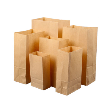 Leading for Kraft Paper Shopping Bags Small Brown Kraft Paper Bag export to Netherlands Importers