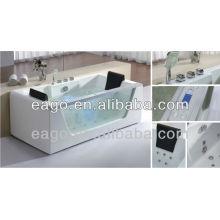 EAGO modern Massage bathtub with glass panel AM196JDTSZ