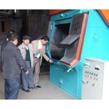Машина для пескоструйной обработки Q32 / Дробеструйная машина / Колесный абратор