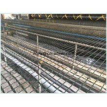 Fiberglass Geogrid for Road and Bridge Pavement Reinforcement