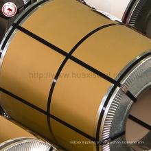 PU isolados Usados PPGL Prepainted bobina de aço com filme protetor