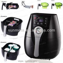 Mini 3D vacuum sublimation photo printing machine prices,mug printing machine manufacturer