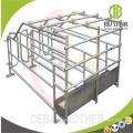 Équipements de ferme de porc pour la stalle de gestation de mise bas de porc