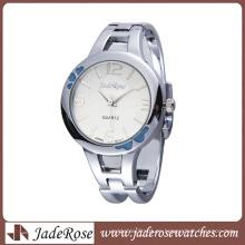 Reloj elegante impermeable de alta calidad de la aleación para la señora