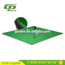 China manufaturer suministro esteras de pastillas de golf de alfombra de hierba artificial barato alfombras de golf esteras de golf