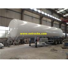 56m3 24ton Used LPG Citerne Remorques