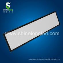 Superfície da luz de painel do preto do diodo emissor de luz de 300X1200mm 40W SMD montada