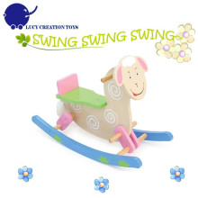 Classic Animals Sheep Kids Wooden Rocking Horse