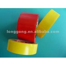 Fita amarela & verde da isolação do PVC de elétrico, FR LGN # 1209/1203