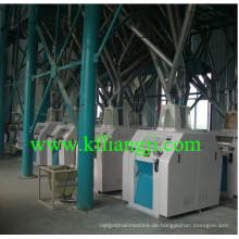 High Efficient 100 Tonnen / Tag Weizen Mehl Mühle Maschine / Mais Mehl Mühle Maschine
