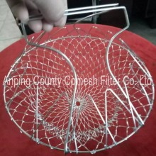 201 Stainless Steel Wire Mesh Chef Frying Basket