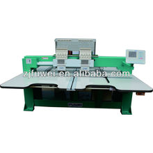2 head flat embroidery machine for sale