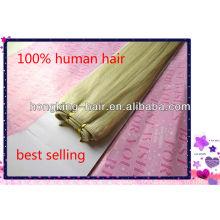 мягкие и гладкие шелковистые прямые светло-пепельный блондин волос ткет