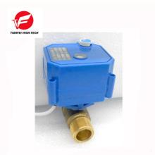 DC3.6V DC6V CR01 DN15 brass CWX-25S motorized ball valve for water