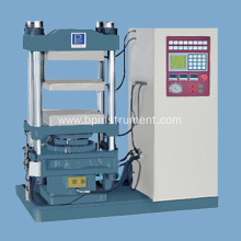 Single PLC plate vulcanizing press machine