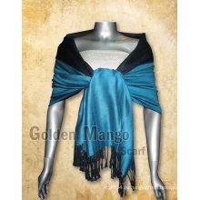 Двойная пашминовая шали с вискозой