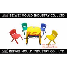 O plástico da injeção feita sob encomenda do OEM caçoa a cadeira e o molde da tabela