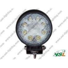 12V 24W LED luz de condução LED caminhão luzes (NSL-2408R)