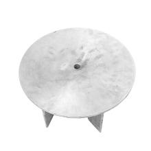 Рабочее колесо из алюминиевого сплава с гравитационным литьем