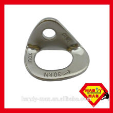 715-SS stainless steel rock climbing eye bolt hanger
