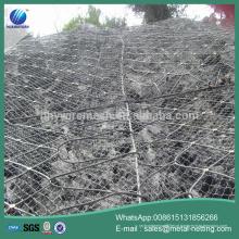 rede de fio galvanizado do declive, cerca da barreira da queda da rocha, rede da proteço da inclinaço