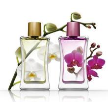 Perfume de la flor para el perfume barato de cristal de la botella de perfume de las mujeres