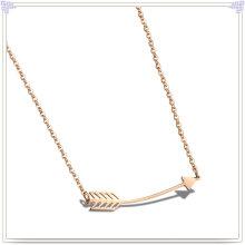 Collier de mode pendentif en bijoux en acier inoxydable (NK287)