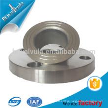 ANSI padrão flange aço carbono / aço inoxidável soldado pescoço flange